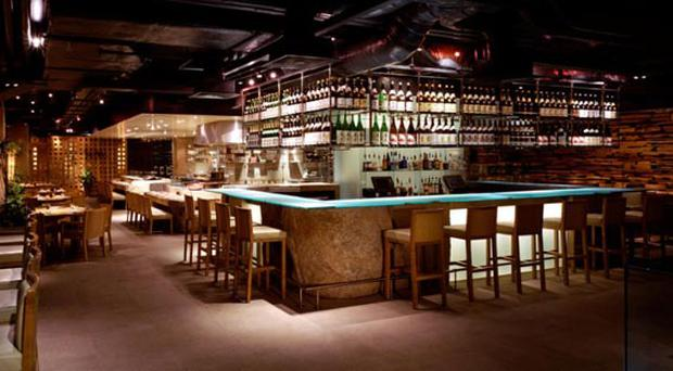 <b>Zuma </b><br/> 'You may have to negotiate your way past the beautiful people to reach your sake but it's all part of Zuma's sophisticated charm,' says Anthony. With more than 40 premium sakes to try warm or chilled, a delectable wine list, and plenty of delicious cocktails, Zuma is a great place to start the evening. An appetising sushi counter, robata grill, and sunken kotatsu tables make it a great place to carry on too. <br/. <b>Where</b> 5 Raphael St, Knightsbridge, London, SW7 1DL (020-7584 1040; www.zumarestaurant.com)