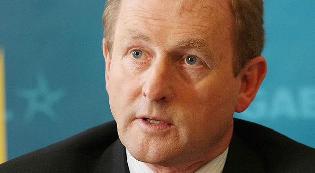 Fine Gael leader Enda Kenny has denied his party is at loggerheads with potential coalition partners Labour