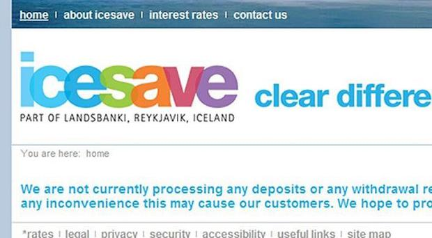 Iceland will hold a referendum over repayments as a result of failed internet bank Icesave