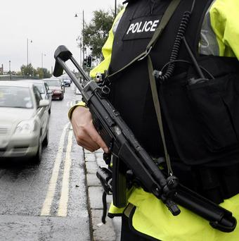 A man has been charged with possession of a firearm and munitions by police investigating dissident republican activity