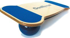 <b>CoolBoard </b><br/> A nifty new star on the home-workout scene - balance your CoolBoard on a choice of balls to mimic surfing, skating or snowboarding. It promises core strength conditioning results for all users. Possible exercises include squats, sit-ups and press-ups. <br/> <b>Where</b> www.coolboard.co.uk <br/> <b>How much</b> From £97.99