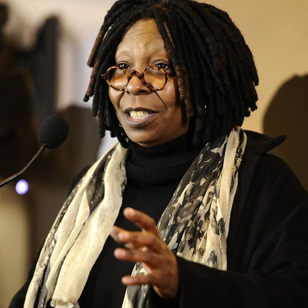 Whoopi Goldberg was at the launch of Meet The Oscars in New York