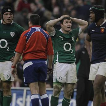 Brian O'Driscoll (second right)