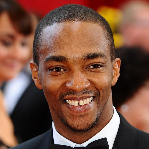 Anthony Mackie is excited about his latest film role