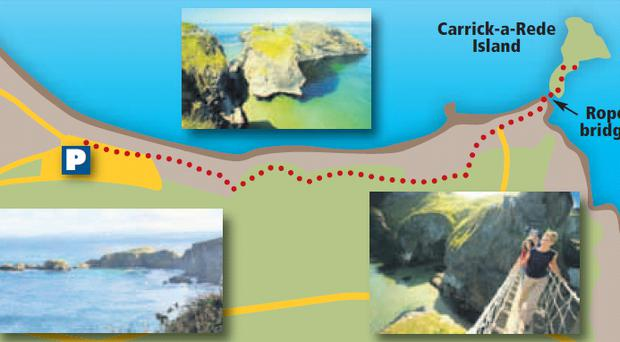 Walk of the Week Is it a rope bridge too far at CarrickaRede