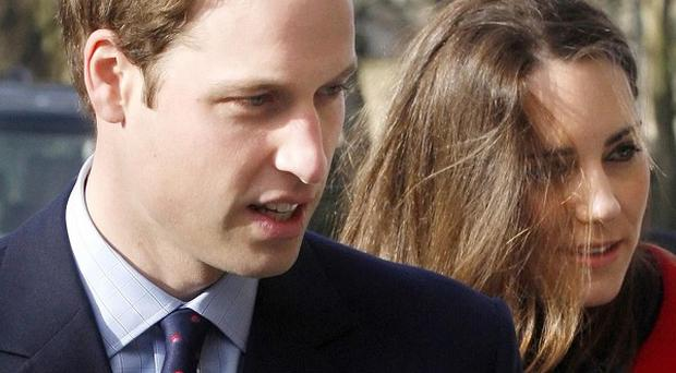 Prince William and Kate Middleton arrive in St Andrews, Scotland, ahead of a visit to the university