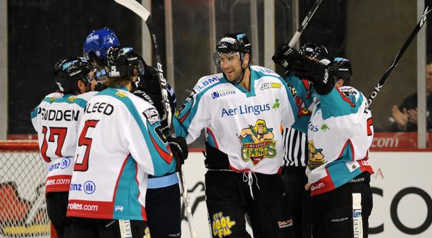 Mike Hoffman missed a penalty shot and then scored for the Belfast Giants in last night's win over Hull