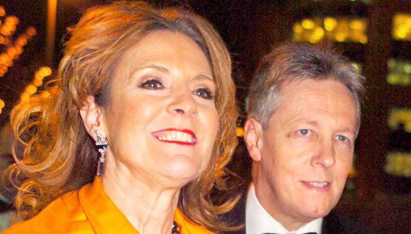 DUP Leader and Northern Ireland First Minister Peter Robinson and his wife Iris