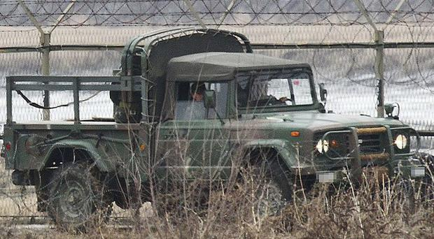 South Korea has been warned that it is risking nuclear war by completing the drills (AP)