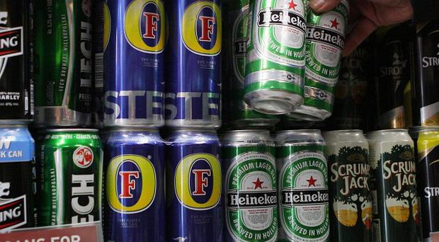 Alcohol Concern has called for supermarkets to restrict the number of alcohol displays in stores