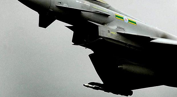 Typhoons could potentially be used to enforce a no-fly zone over Libya