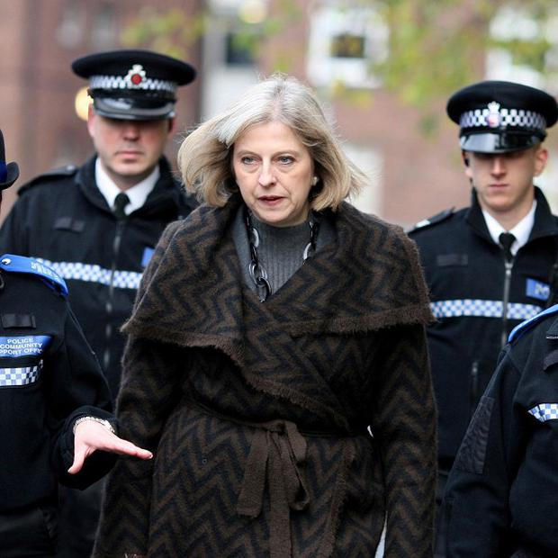 Theresa May's warning that police officers face cuts to their pay undermines morale, it has been claimed