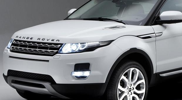 Jaguar Land Rover has announced more than two billion pounds worth of supply contracts for its new Evoque model