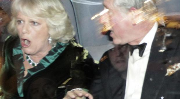 Prince Charles and Camilla, Duchess of Cornwall, were shocked after their car was attacked