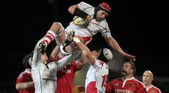 Johann Muller has brought all his knowledge to bear in support of Ulster's development