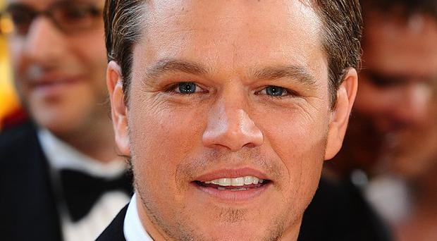 Matt Damon said he'd return to writing if his acting career went off the boil