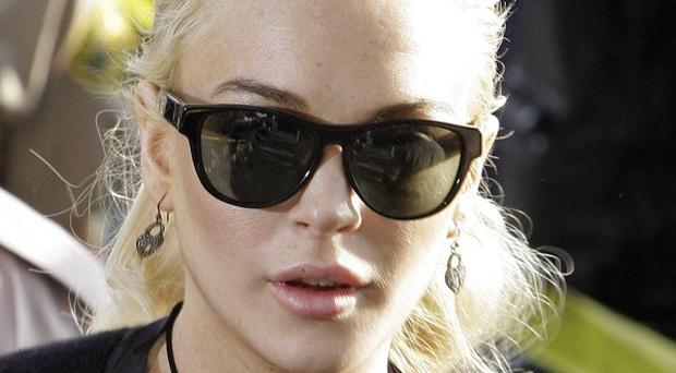 Lindsay Lohan says she wants to be identified with great films in the future