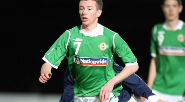 County Down-born Paul George has elected to play for the Republic of Ireland