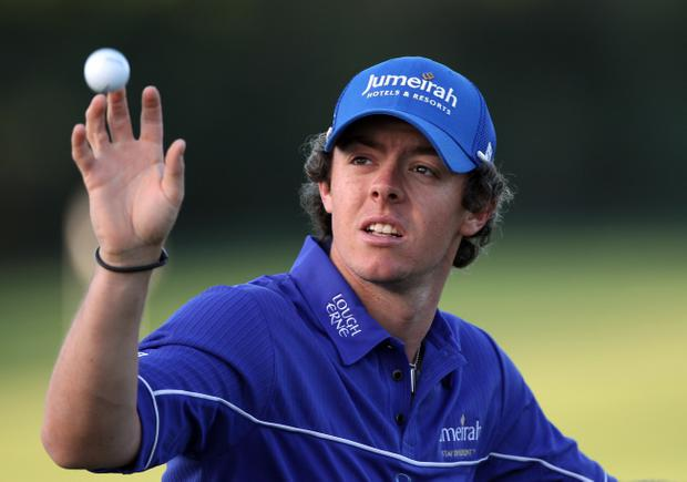 Rory McIlroy had to dig deep last night at Palm Beach