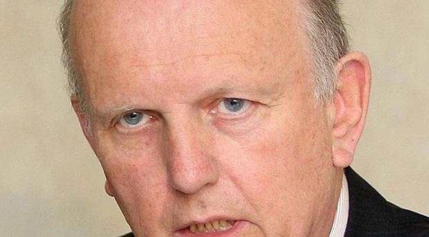 Health minister Michael McGimpsey had wanted an extra £200 million for his department