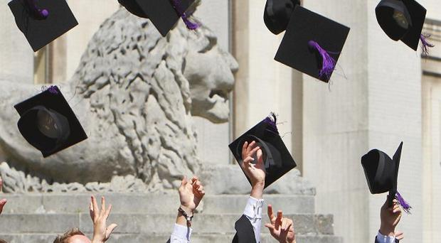 An increasing number of universities could be at risk of going bust as a result of funding cuts, a report suggests