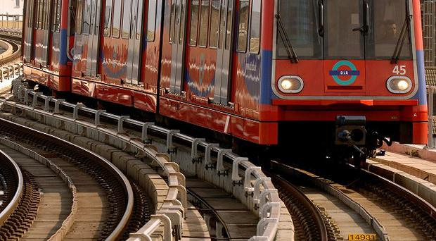 The Rail Maritime and Transport union was blocked from taking industrial action at Docklands Light Railway in January