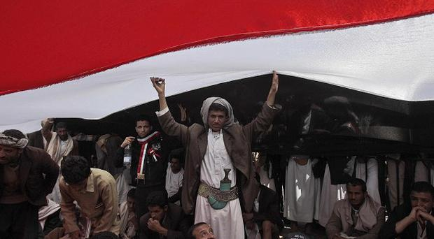 Britons have been urged not to travel to Yemen as political unrest continues (AP)
