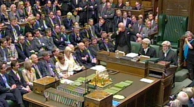 The size of the House of Commons will be cut from 650 to 600