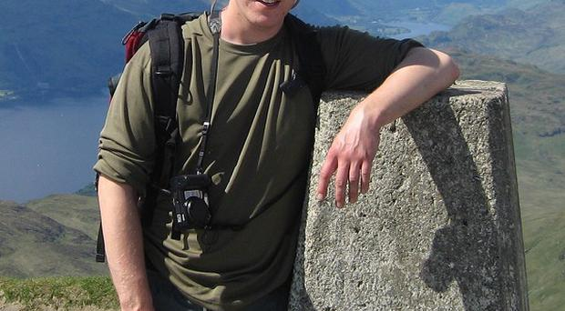 Stuart McCormick, from Irvine, died with 11 others when a tourist boat sank in Vietnam (AP)