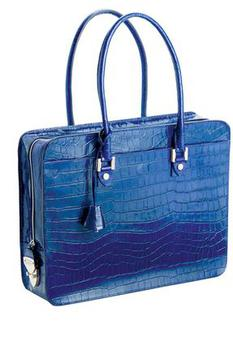 <b>1. ASPINAL NAVY CROC </b><br/> The pinnacle of laptop bag design. Aspinal's offering has an arresting, mock-croc calf leather exterior, high-quality nickel fittings and a Swiss zip which comes with its own lifetime warranty. <br/> <b>£425</b> <br/> aspinaloflondon.com