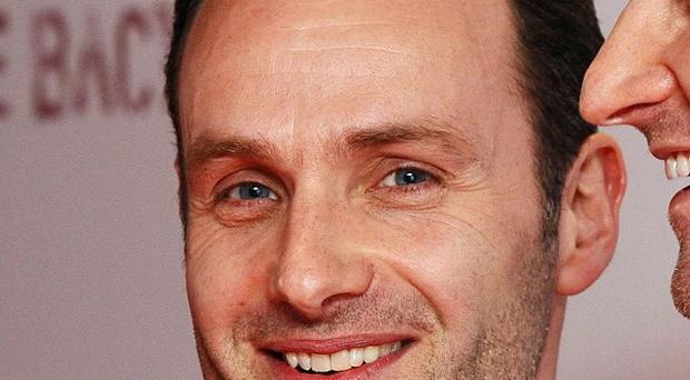 Andrew Lincoln has his dream job in the US TV show The Walking Dead
