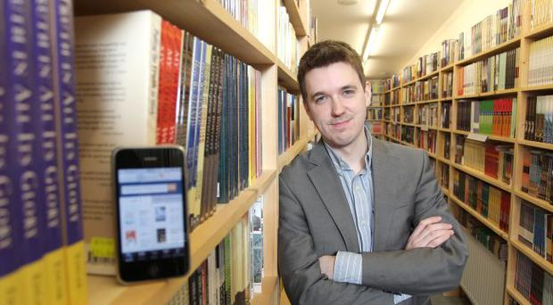 Alan Millar of GCD Technologies who worked with the Christian bookstore ICM Books Direct to develop its new iPhone app.