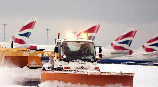 At the height of the snow chaos on December 19, Heathrow was only able to handle around 20 flights