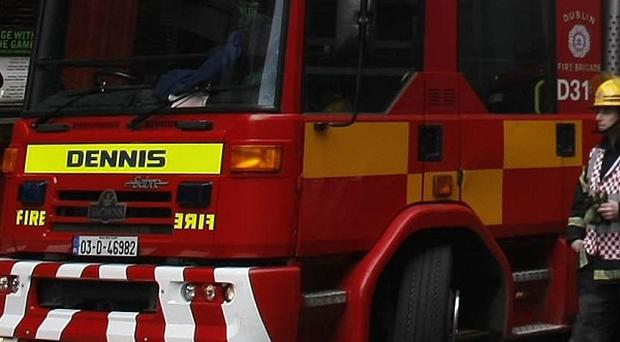A 73-year-old man has died in a house fire in Limerick city