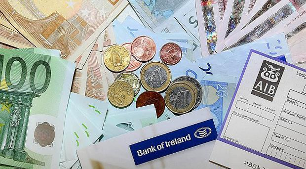 One in every five Irish families does not have access to a bank current account