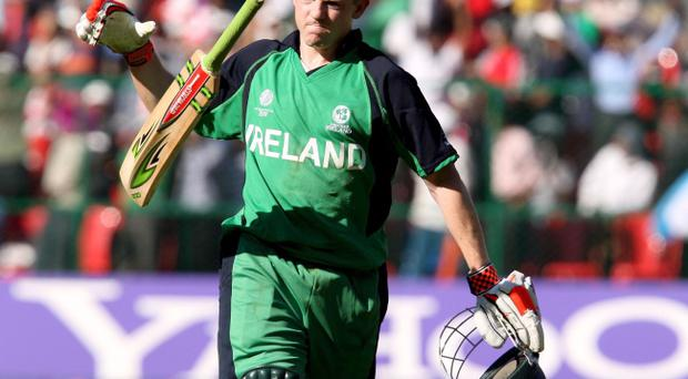 Niall O'Brien is expecting to have a new set of bats for Ireland's clash with the West Indies on Friday