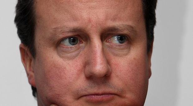 Prime Minister David Cameron rates his life as 'six out of 10'