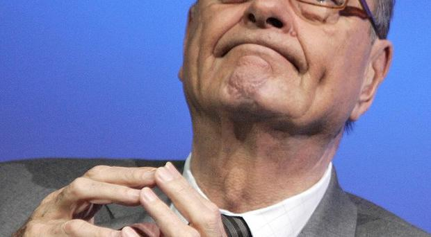The trial of former French president Jacques Chirac has been postponed for three months (AP)