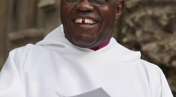 Archbishop of York John Sentamu is joining clergy who are taking to the streets to collect prayers for Lent