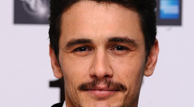 James Franco has posted posted several videos online of him with Agyness Deyn