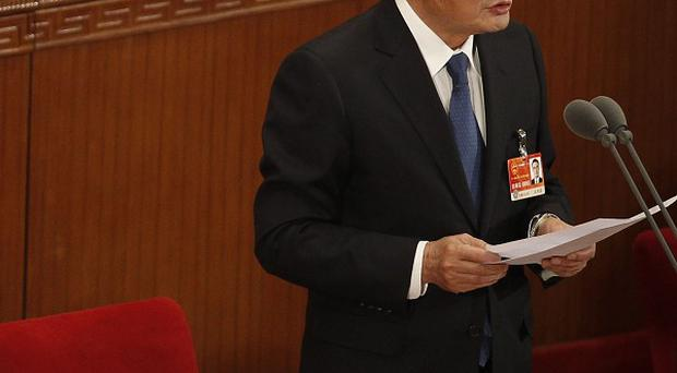 National People's Congress chairman Wu Bangguo said China will never adopt multi-party democracy (AP)