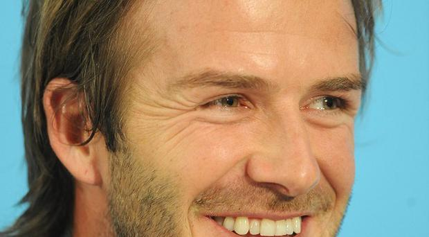 David Beckham said it was an exciting time for the family