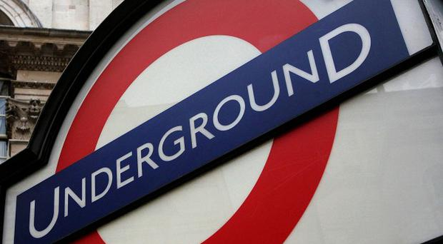 Tube passengers were shocked when a bloodied gunshot victim staggered on to their carriage
