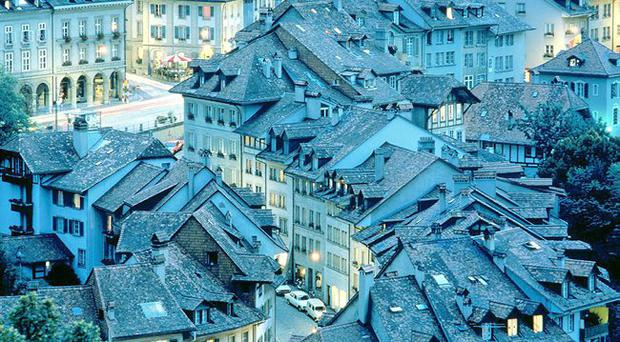 Streets ahead: The beautiful and historic Swiss capital is just emerging from the cold of winter