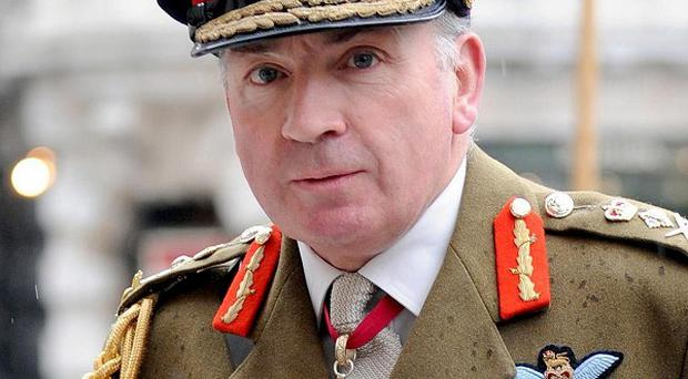 Sir Richard Dannatt wants Zimbabwean troops to stand up to Robert Mugabe