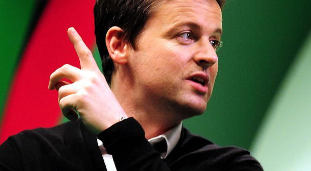 Declan Donnelly was at Crufts filming part of Push The Button