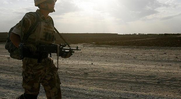 A 24-hour helpline is being launched to help troops who may be suffering mental health problems