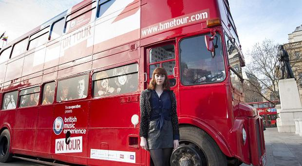 Kate Nash launches the British Music Experience on Tour
