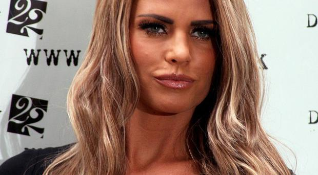 Katie Price has lodged at petition at court - the first step on the road to divorcing Alex Reid