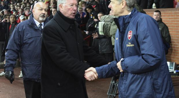 Sir Alex Ferguson and Arsene Wenger go head to head tonight in a match that could have a huge bearing on how their seasons pan out